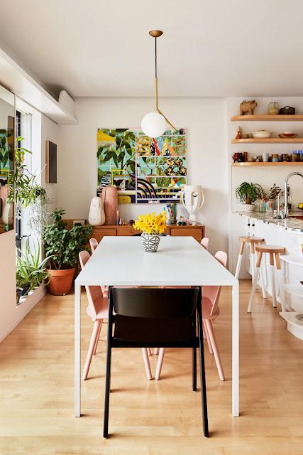 Fröhlicher Ansatz zum Einrichten & Wohnen: Vintage & Design in diesem Interior locker & leicht vereint! Beste Wohninspo zum Nachmachen!
