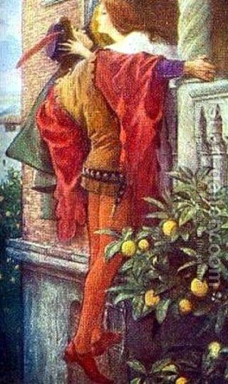 Thomas Francis Dicksee Ромео и Джульетта
