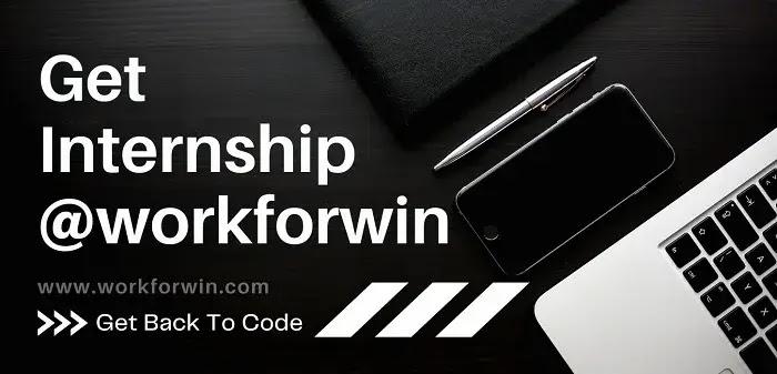Internship at workforwin