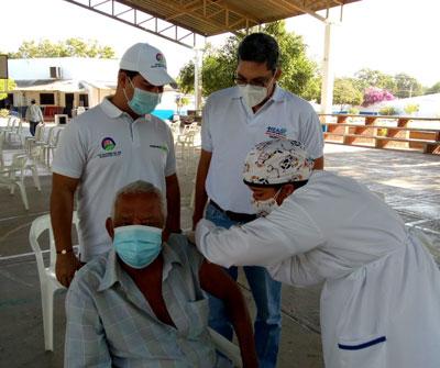 hoyennoticia.com, Covid-19 en Valledupar: Vacunados 362 mayores de 80 años