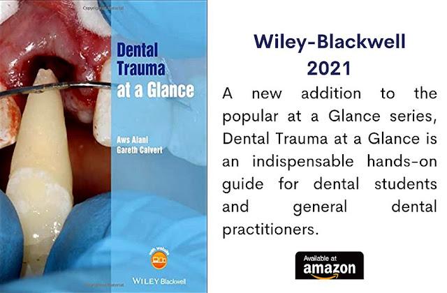 DENTISTRY BOOK: Dental Trauma at a Glance - Aws Alani and Gareth Calvert - 2021