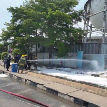 Fire guts Water Corporation