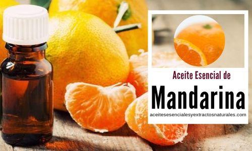 El aceite esencial de mandarina tine multiples propiedades como la de ser calmantes y relajantes