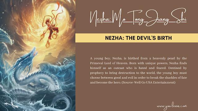 3D Chinese Anime Nezha The Devil's Birth