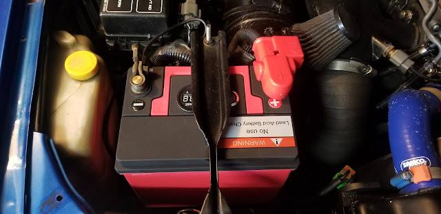 12 volt battery lithium iron phosphate for Nissan Skyline