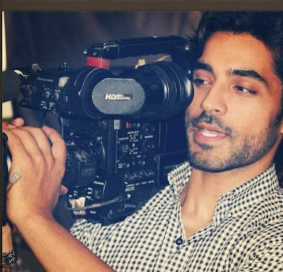 Gautam Gulati Holding Camera On Sets Of Shooting