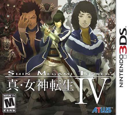 Shin Megami Tensei IV CIA 3DS USA