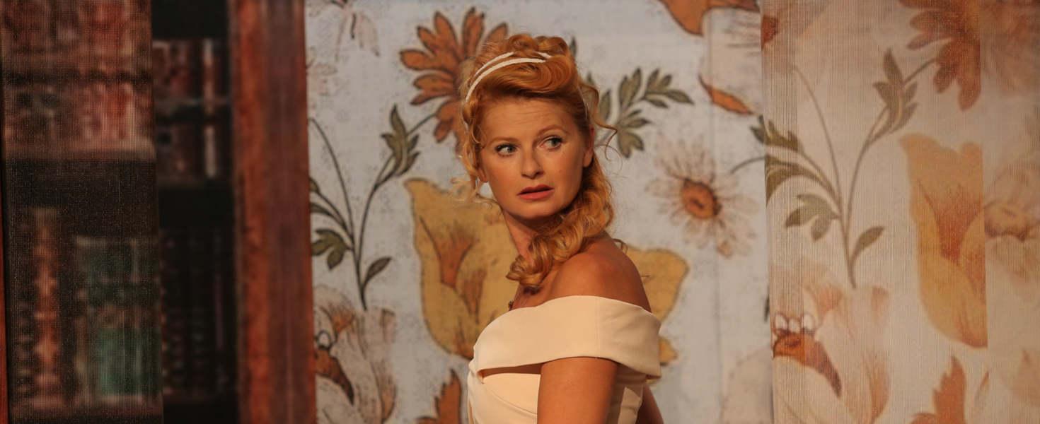 Ullmann Mónika a Vaskakas színpadán