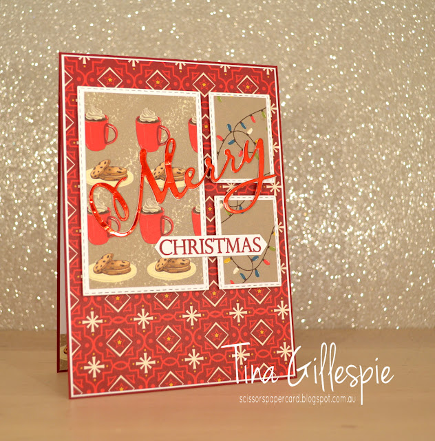 scissorspapercard, Stampin' Up!, Art With Heart, Heart Of Christmas, Merry Christmas To All Bundle, Night Before Christmas DSP, Christmas