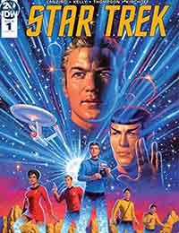 Star Trek: Year Five Comic
