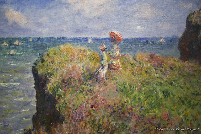 Monet en el Art Institute de Chicago, por El Guisante Verde Project
