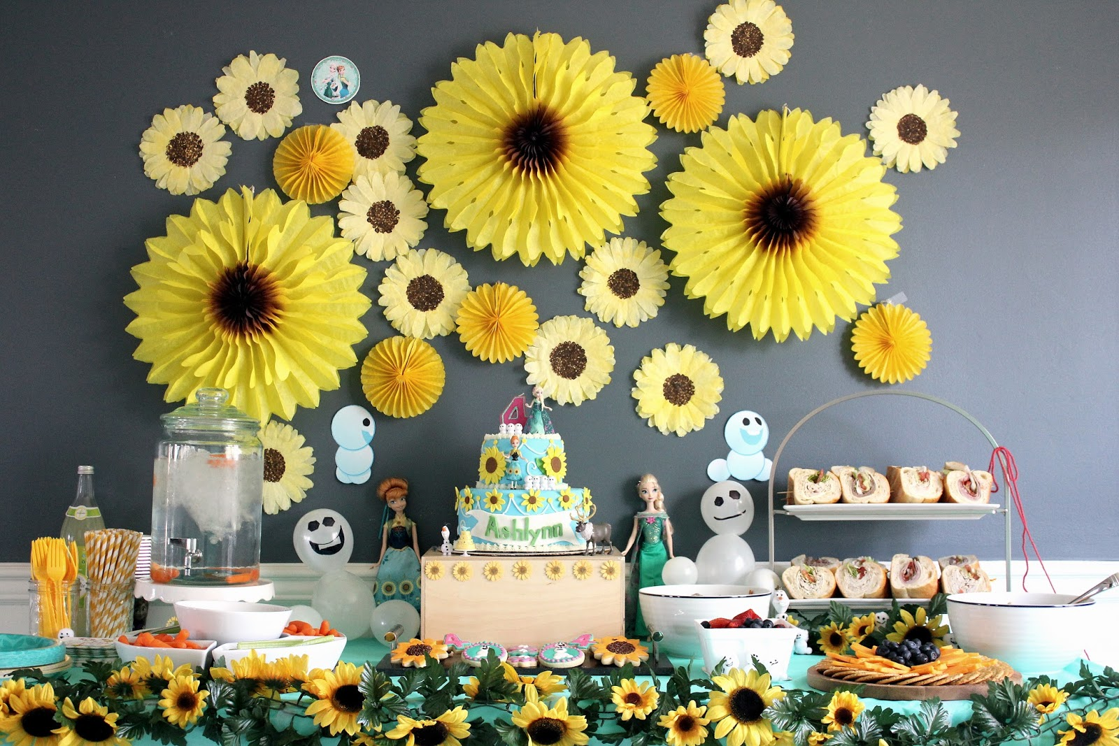 16 Best Sunflower Themed Party And Birthday Decorations