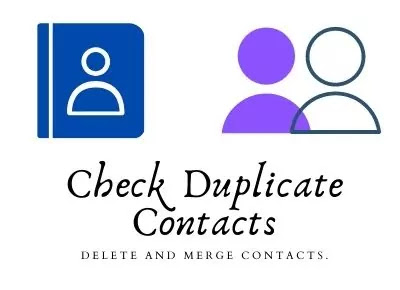 Check Duplicate Contacts Of Android