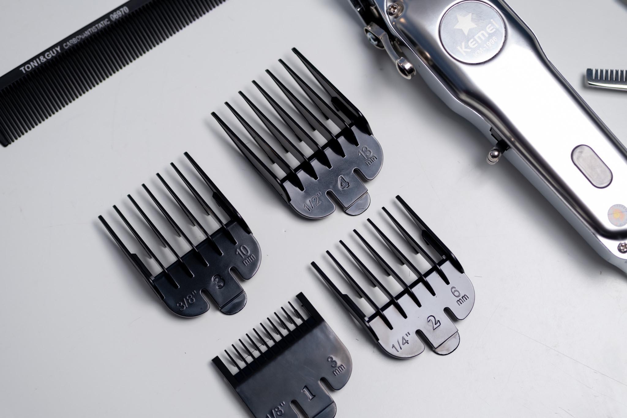 Review trên tay tông đơ cắt tóc Kemei KM-1996 đẹp pin lâu