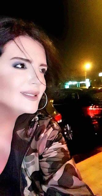 النجمة العربية كلودا الشمالي تحتفل بعيد ميلادها في الثامن من أب
