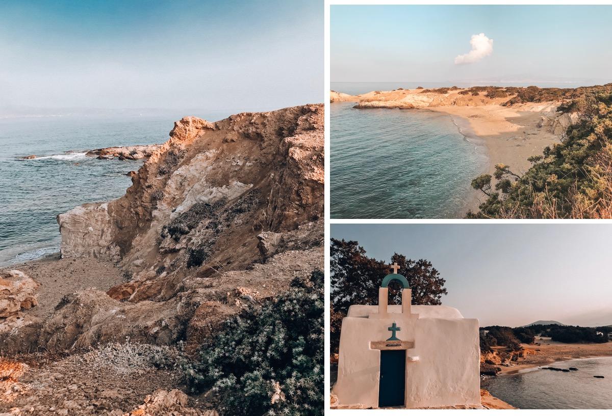Naxos Travel Diary Reise Tipps Schönste Orte Schönste Strände der Insel Hawaii Beach Alyko Region Strände Aliko