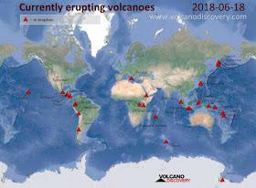 VIDEO: Estos Volcanes Están En Erupción Y También En Alerta De Posible Erupcion