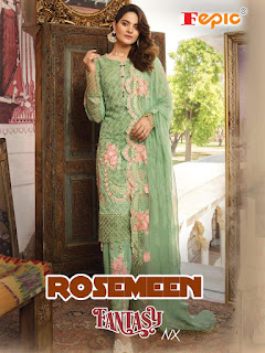 Fepic Rosemeen fanstasy Nx Pakistani Suits wholesale