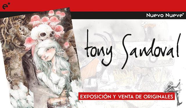 Exposición Tony Sandoval