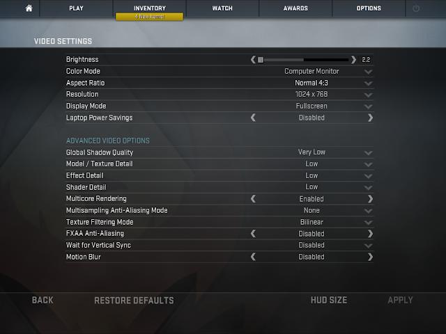 Cara Ampuh Meningkatkan FPS di CSGO