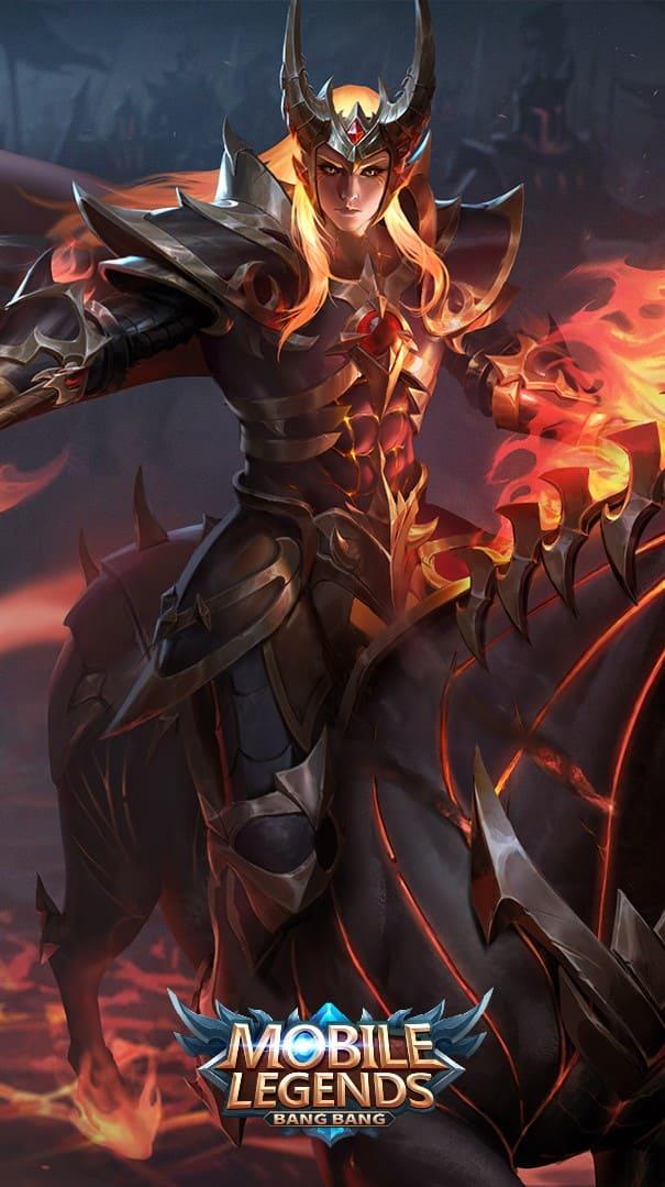Wallpaper Leomord Inferno Soul Skin Mobile Legends Full HD for Mobile