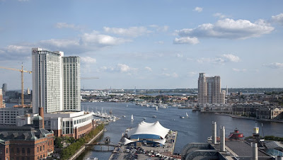 Baltimore Inner Harbor in Maryland