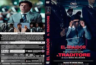 EL TRAIDOR-IL TRADITORE 2019[COVER DVD+BLU-RAY]