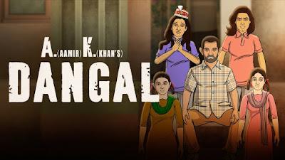 Superhit Movie Dangal is now in Youtube starring Amir Khan.