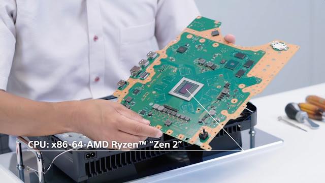 تفكيك PlayStation 5 من سوني يكشف مبرد حرارة هائل ومعدن سائل