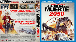Death Race 2050 - La Carrera de la Muerte - BLU-RAY
