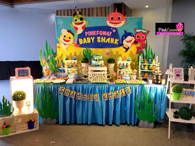Baby Shark themed Sweet buffet