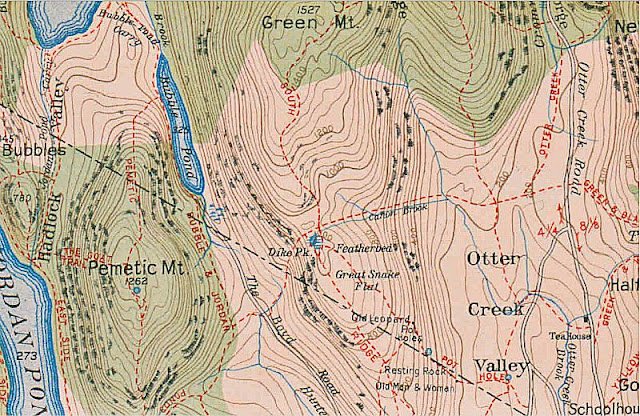 OLD MAPS OF ACADIA NATIONAL PARK