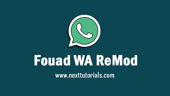 Fouad WhatsApp ReMod v8.95 Apk Mod Latest Version Anti-Banned,install Aplikasi Fouad WA Terbaru 2021,tema fouad whatsapp keren,donwload wa mod anti blokir