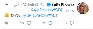 مذيعة WWE كايلا براكستون تعلن أنها ثنائية الميول وزوجة ايدج تثير الشكوك بتفاعلها مع الخبر