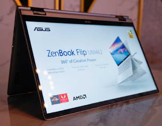 Asus ZenBook Terbaru Pakai AMD Ryzen