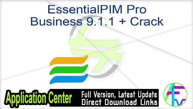 EssentialPIM Pro Business 9.1.1 + Crack