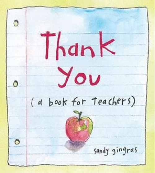 Thank You {a book for teachers}
