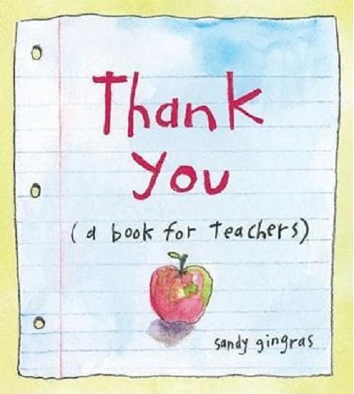 Thank You {a book for teachers}