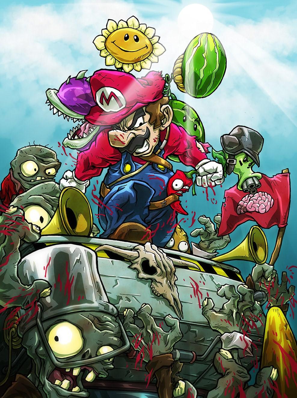 Super Mario contra todos