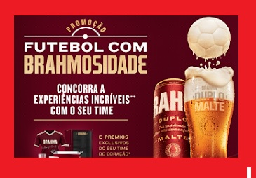 Promoção Futebol com Brahmosidade - Concorra a Experiências com seu Time