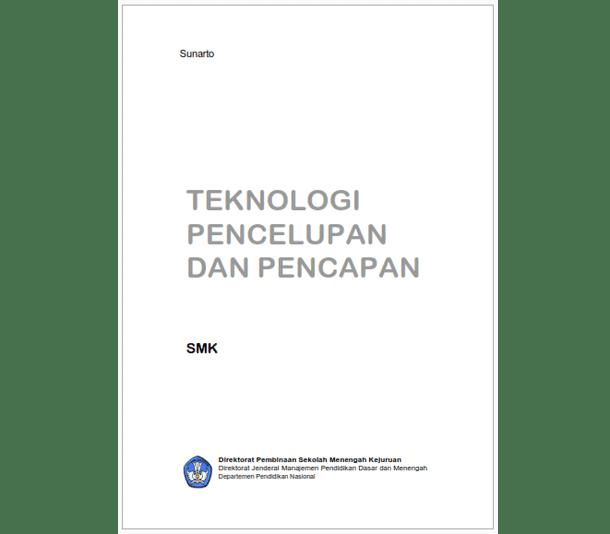 Buku SMK Teknik Pencelupan dan Pencapan