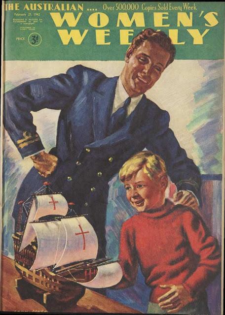Australian Women's Weekly, 21 February 1942 worldwartwo.filminspector.com
