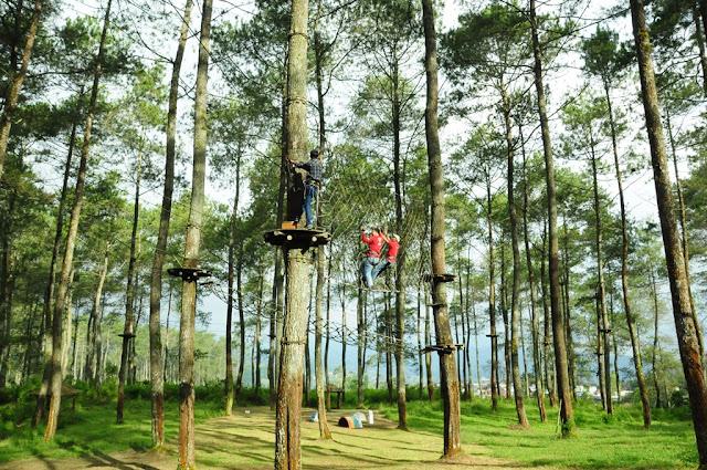 bandung treetop adventure park-Outbound Lembang-Outbound Bandung-Outbound Cikole
