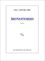 Éric Chevillard  Monotobio  Ed. Minuit