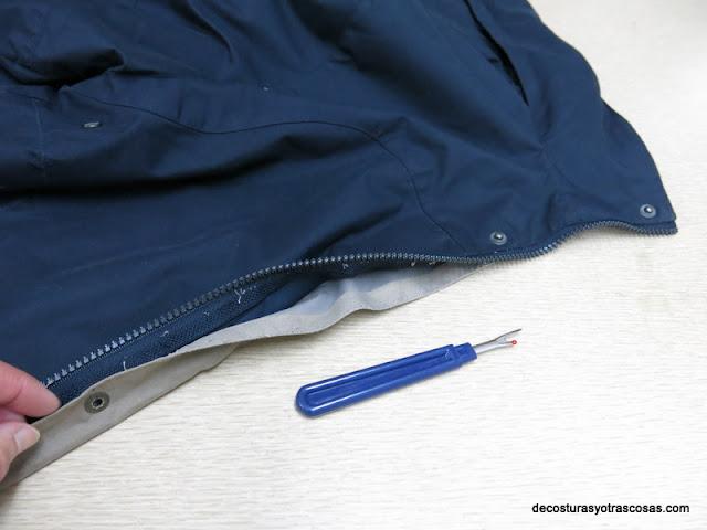 como arreglar un cierre zipper