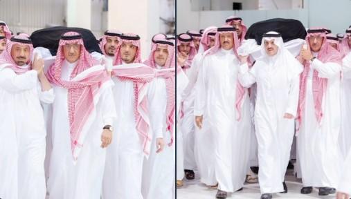وفاة والدة الأمير سعود بن نايف بن عبد العزيز - تشييع جثمان والدة الأمير محمد بن نايف