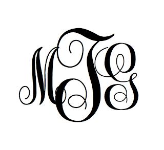 Download MonogramsByM: Free Monogram Font