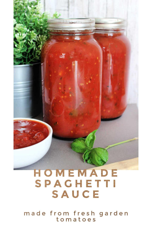 spaghetti sauce homemade tips and tricks