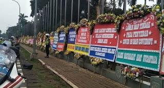 Merasa Dicatut! AMAN Bantah Kirim Karangan Bunga Dukungan ke Pangdam Jaya