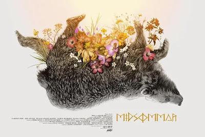 MondoCon 2019 Exclusive Midsommar Movie Poster Screen Print by Greg Ruth x Mondo